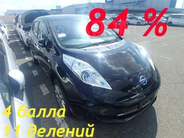 Nissan Leaf, 2014 год, 525 000 руб.