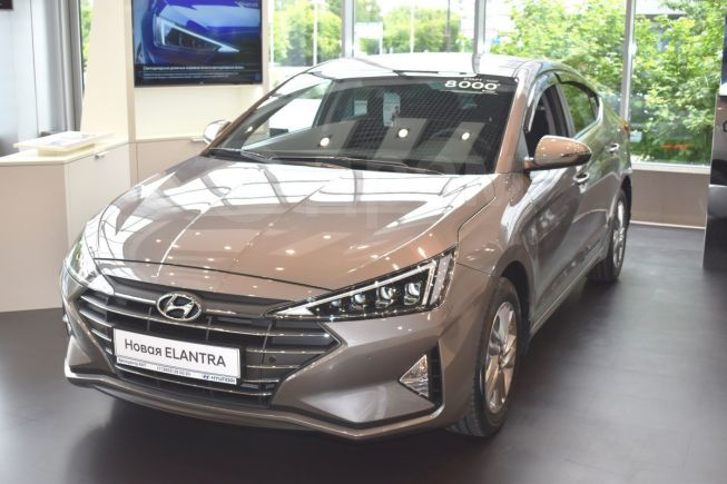 Hyundai Elantra, 2019 год, 1 280 000 руб.
