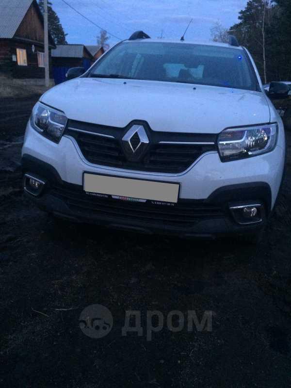 Renault Sandero, 2018 год, 860 000 руб.
