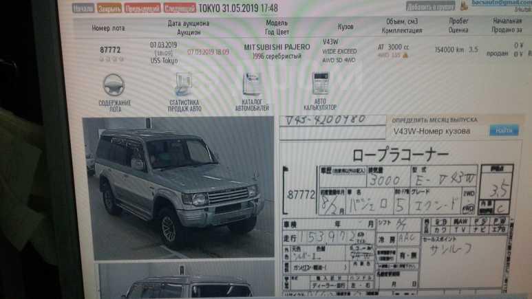 Mitsubishi Pajero, 1995 год, 690 000 руб.