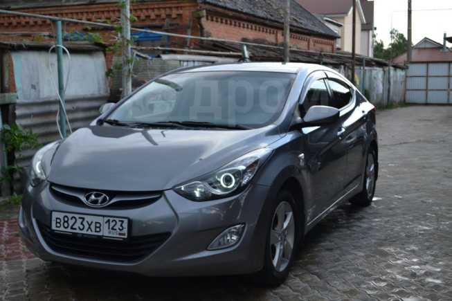 Hyundai Elantra, 2011 год, 590 000 руб.