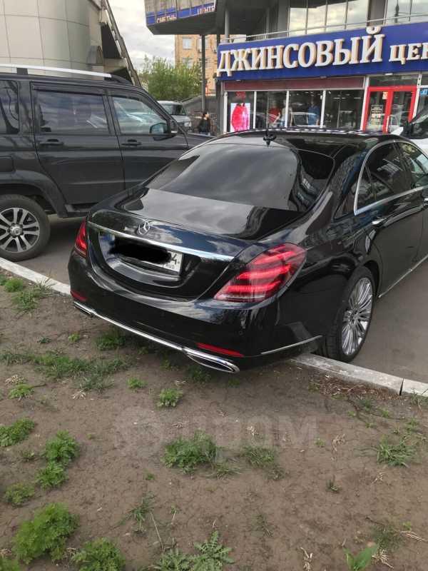 Mercedes-Benz S-Class, 2018 год, 7 600 000 руб.