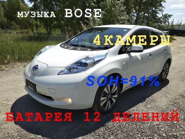 Nissan Leaf, 2014 год, 745 000 руб.