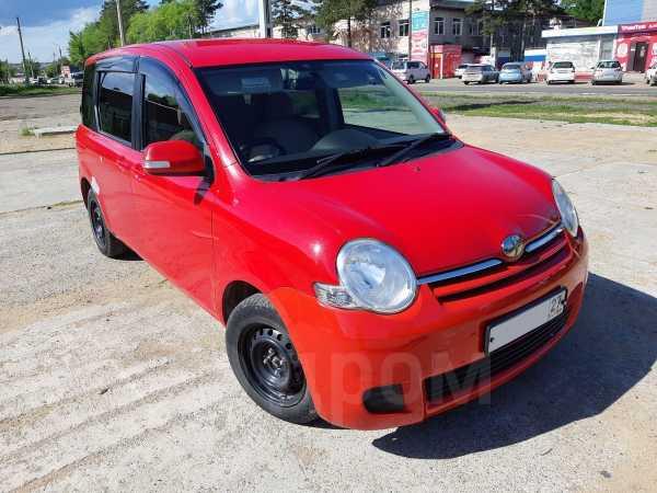 Toyota Sienta, 2009 год, 395 000 руб.