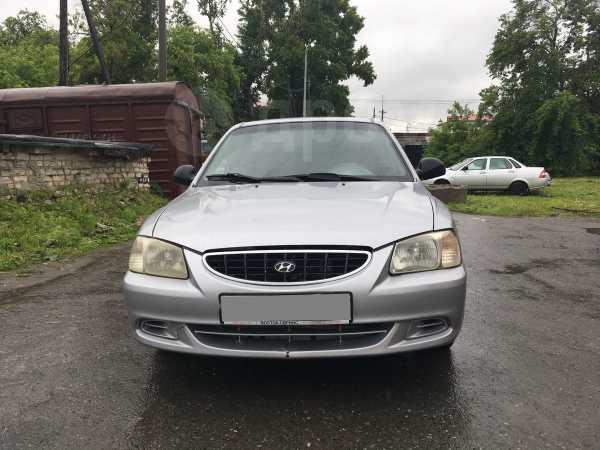 Hyundai Accent, 2003 год, 95 000 руб.