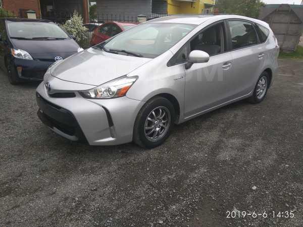 Toyota Prius v, 2015 год, 1 300 000 руб.