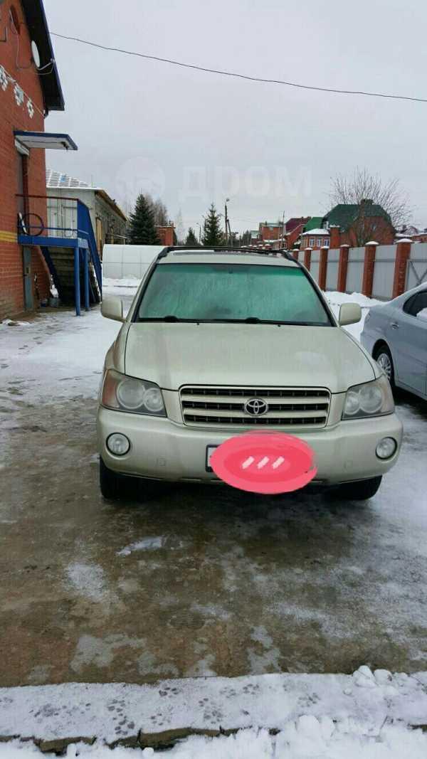 Toyota Highlander, 2003 год, 570 000 руб.