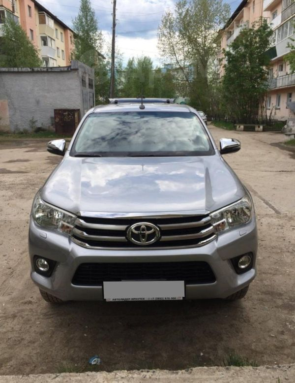 Toyota Hilux Pick Up, 2018 год, 2 300 000 руб.