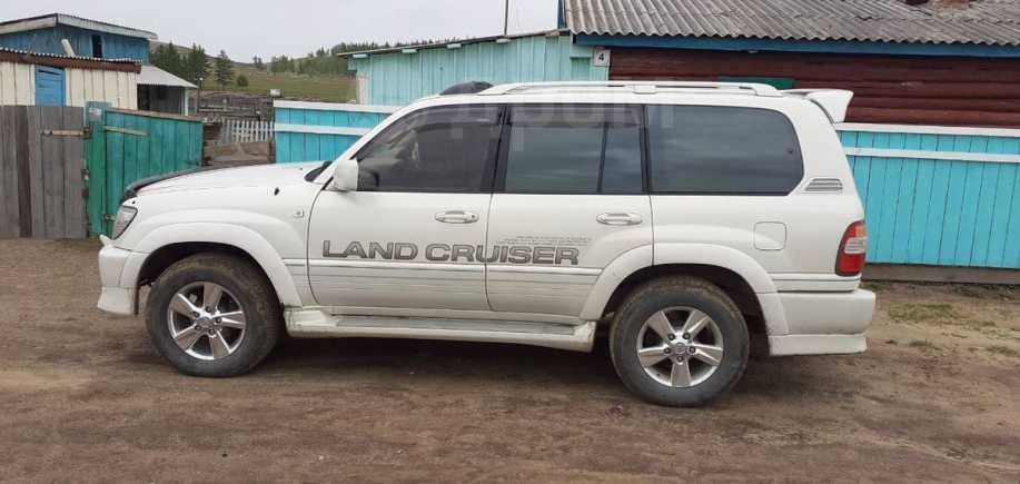 Toyota Land Cruiser Cygnus, 2001 год, 470 000 руб.