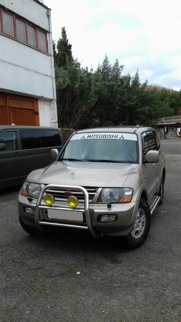 Mitsubishi Pajero, 2001 год, 487 000 руб.