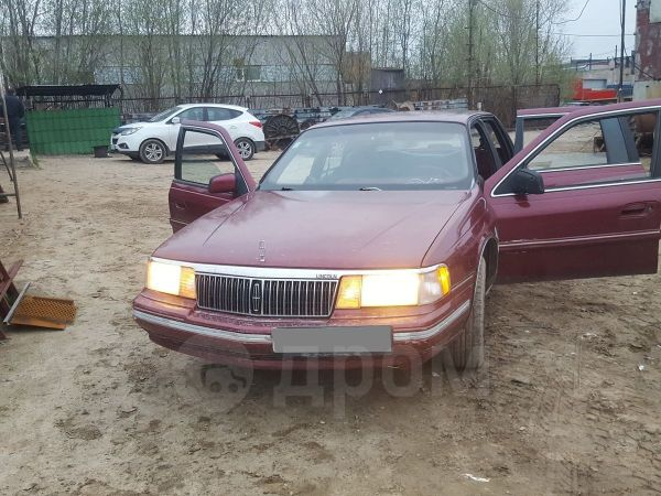 Lincoln Continental, 1991 год, 150 000 руб.