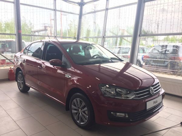 Volkswagen Polo, 2019 год, 960 000 руб.