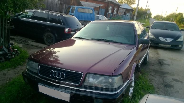 Audi V8, 1992 год, 180 000 руб.