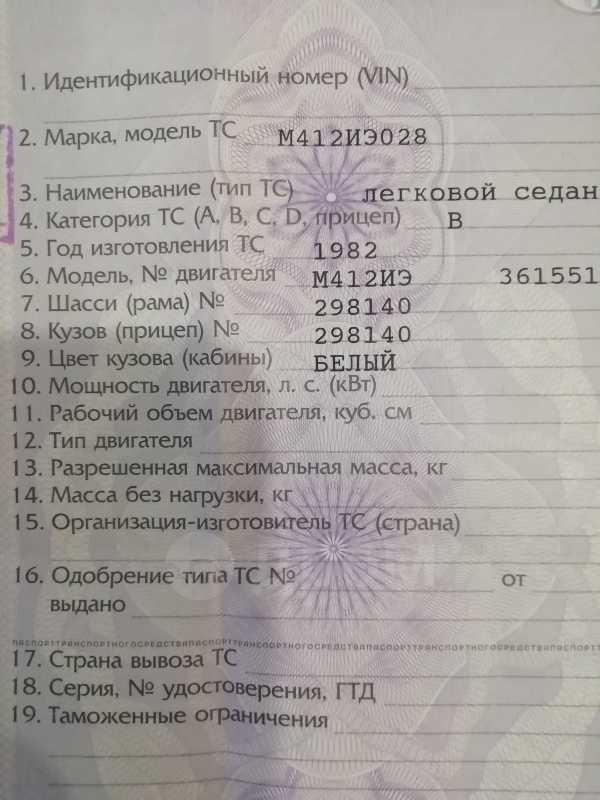 Москвич 412, 1982 год, 25 000 руб.