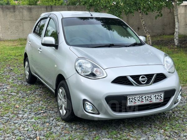 Nissan March, 2014 год, 405 000 руб.