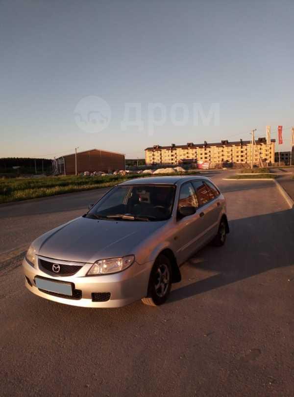 Mazda 323F, 2002 год, 125 000 руб.
