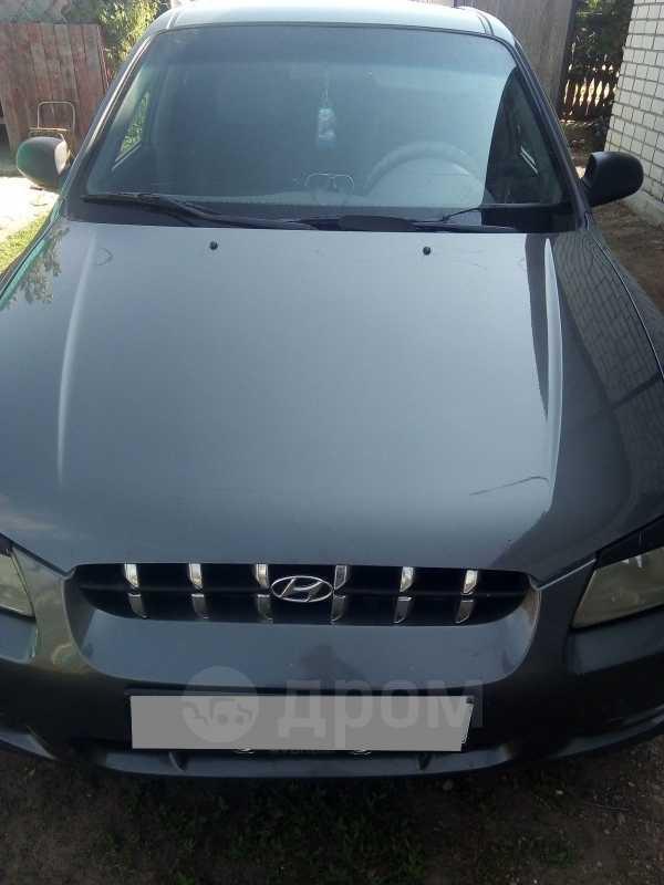 Hyundai Accent, 2003 год, 143 000 руб.