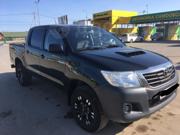 Toyota Hilux Pick Up, 2014 год, 1 580 000 руб.