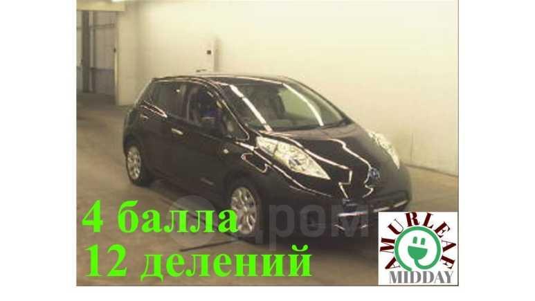 Nissan Leaf, 2014 год, 585 000 руб.