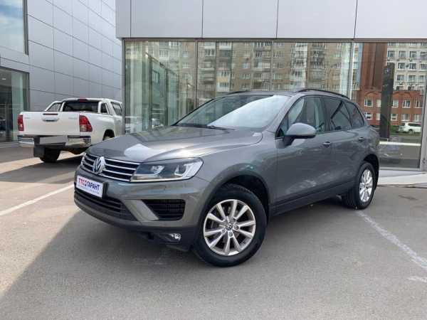 Volkswagen Touareg, 2016 год, 2 768 100 руб.