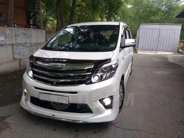 Toyota Alphard, 2012 год, 1 700 000 руб.