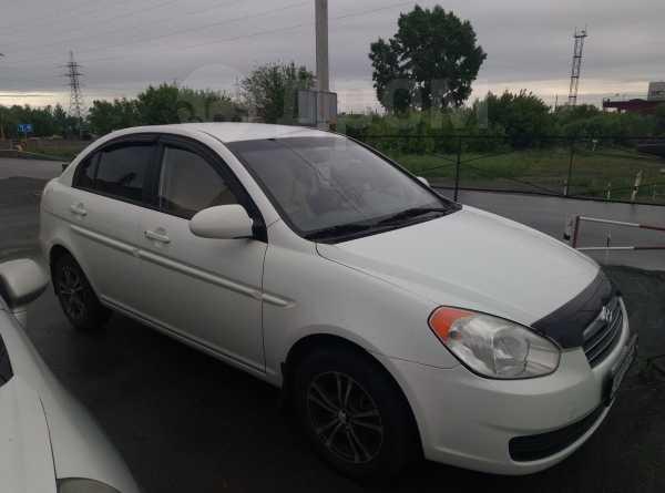 Hyundai Verna, 2009 год, 400 000 руб.