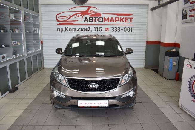 Kia Sportage, 2014 год, 1 055 000 руб.