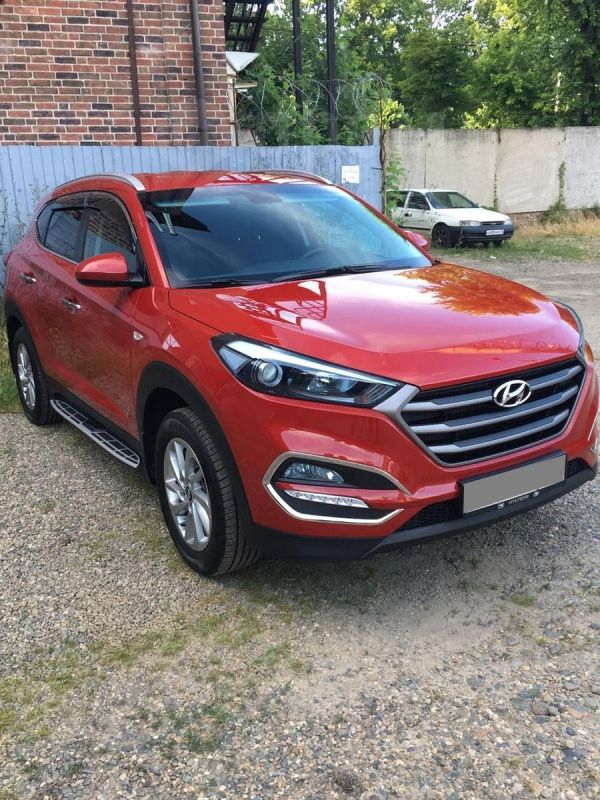 Hyundai Tucson, 2018 год, 1 435 000 руб.