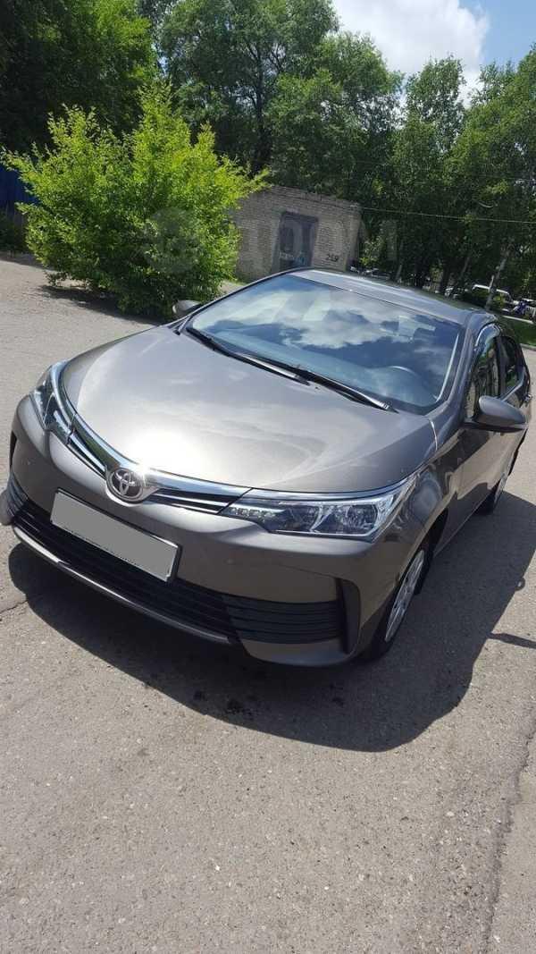 Toyota Corolla, 2017 год, 890 000 руб.