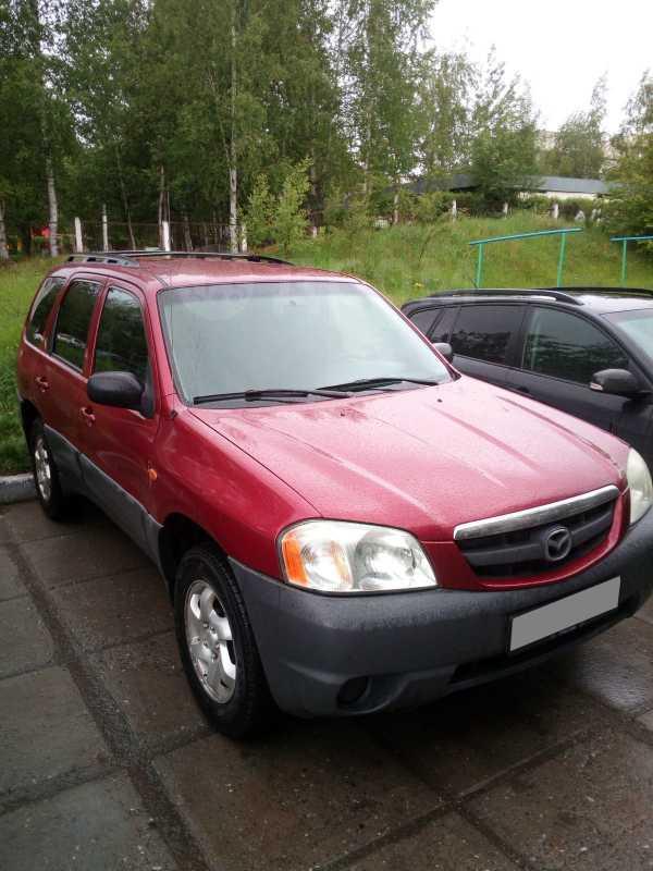 Mazda Tribute, 2002 год, 230 000 руб.