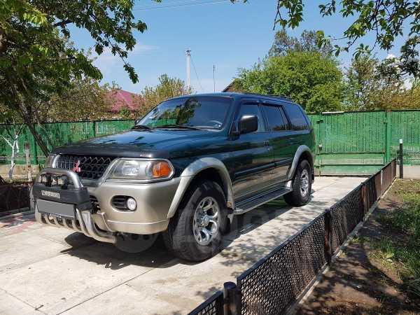 Mitsubishi Montero Sport, 1999 год, 410 000 руб.