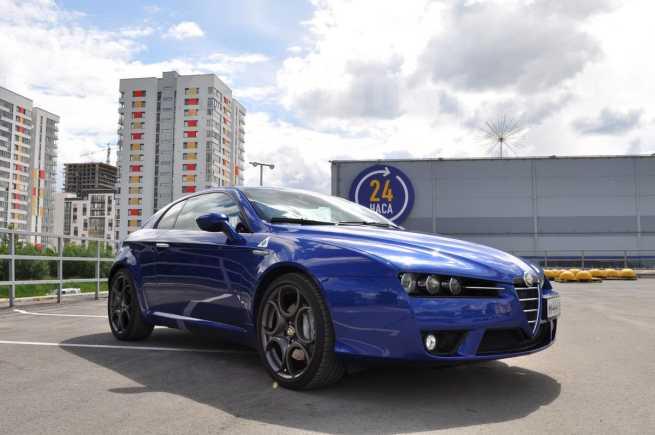 Alfa Romeo Brera, 2007 год, 1 300 000 руб.