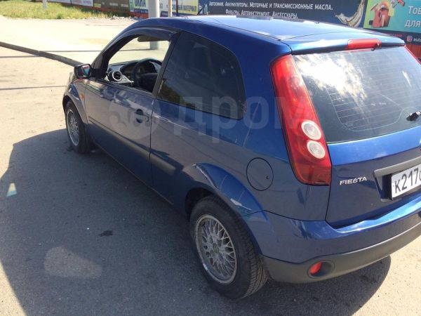 Ford Fiesta, 2007 год, 220 000 руб.