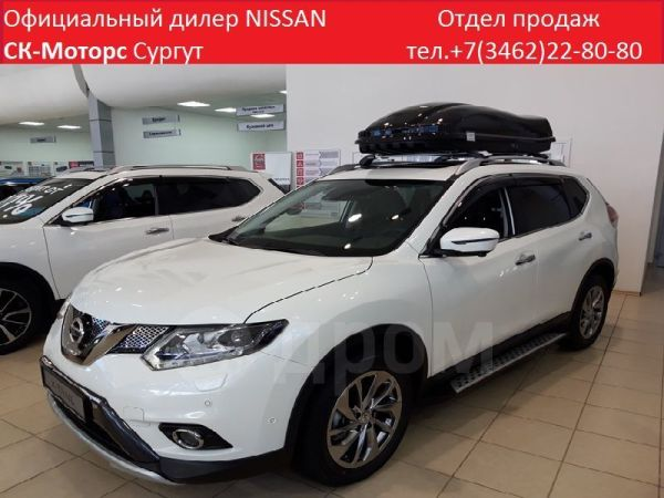Nissan X-Trail, 2018 год, 1 844 000 руб.