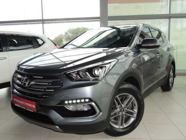 Hyundai Santa Fe, 2018 год, 1 795 000 руб.