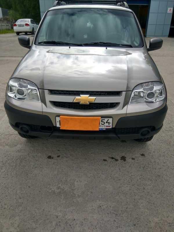 Chevrolet Niva, 2017 год, 612 000 руб.