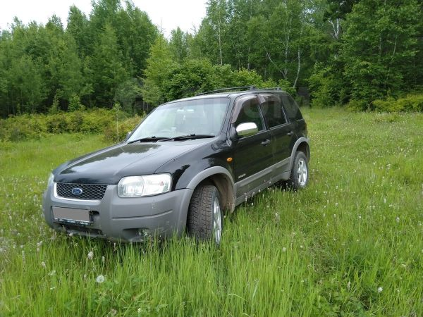 Ford Escape, 2002 год, 340 000 руб.