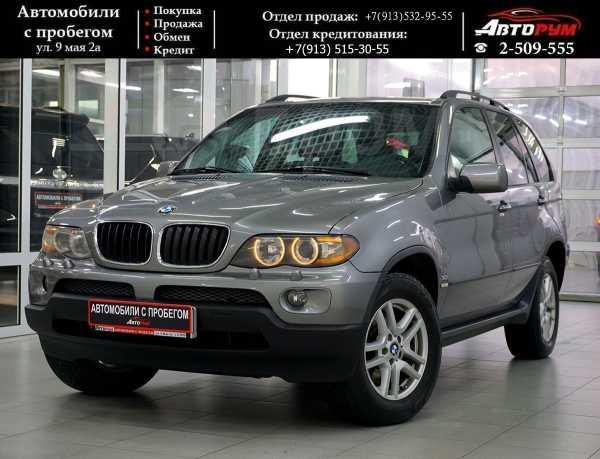BMW X5, 2004 год, 657 000 руб.