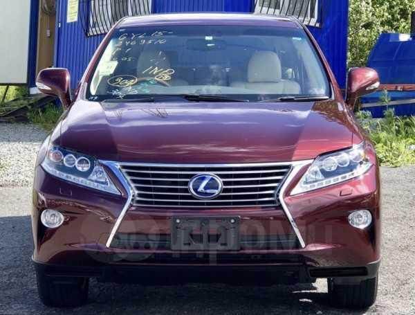 Lexus RX450h, 2015 год, 2 680 000 руб.