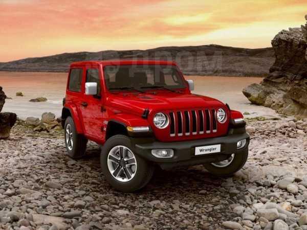Jeep Wrangler, 2019 год, 4 155 000 руб.
