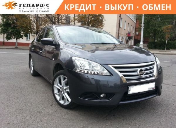 Nissan Sentra, 2014 год, 590 000 руб.
