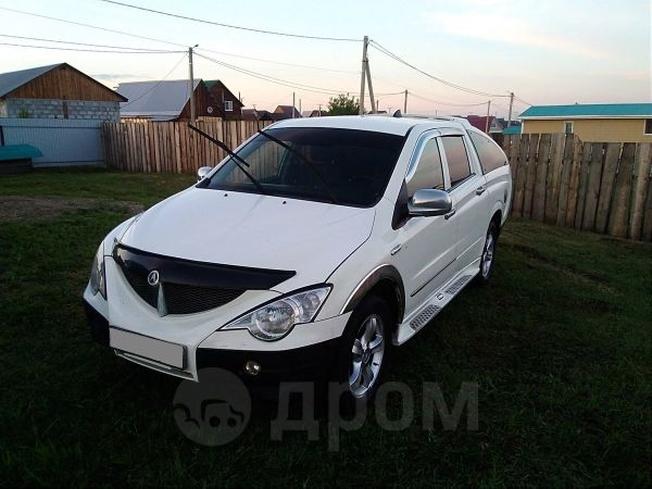 SsangYong Actyon Sports, 2009 год, 270 000 руб.