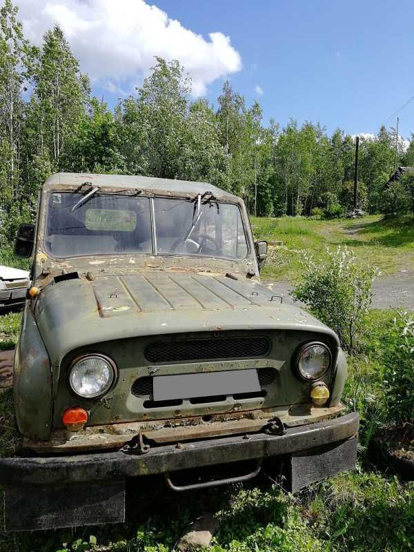 УАЗ 469, 1989 год, 55 000 руб.