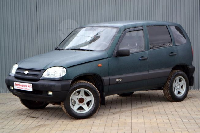 Chevrolet Niva, 2003 год, 149 888 руб.