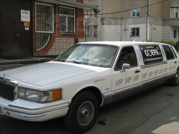 Lincoln Town Car, 1992 год, 330 000 руб.