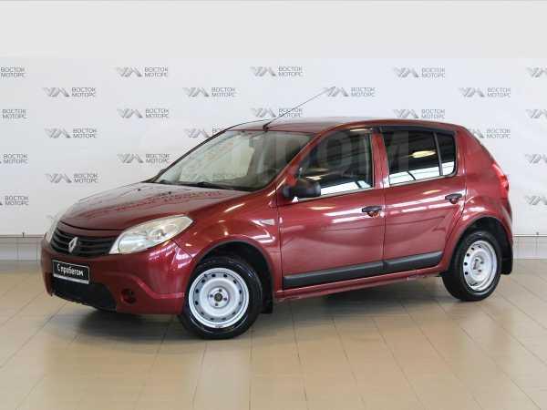 Renault Sandero, 2010 год, 275 000 руб.