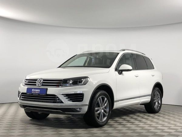 Volkswagen Touareg, 2016 год, 2 495 600 руб.