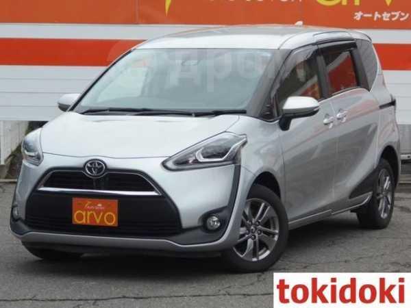 Toyota Sienta, 2016 год, 830 000 руб.