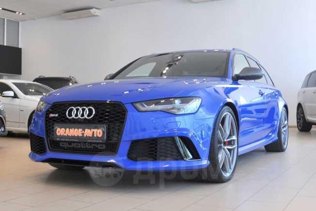 Audi RS6, 2016 год, 5 270 000 руб.