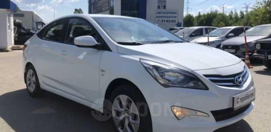 Hyundai Solaris, 2015 год, 569 000 руб.